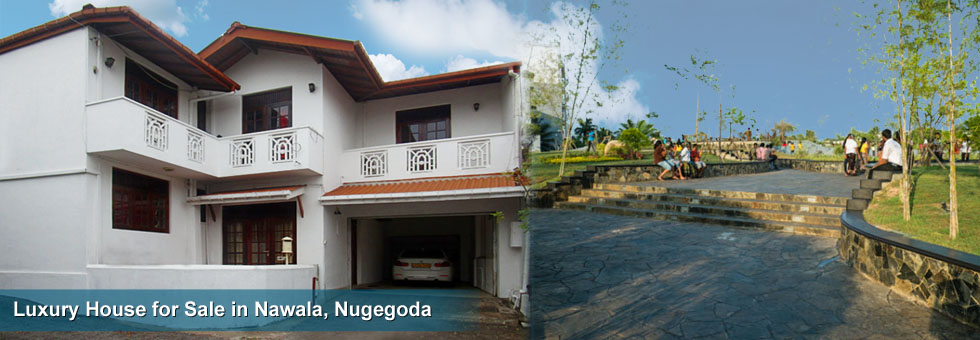 Two Storied Luxury House Available For Sale At Nawala Road