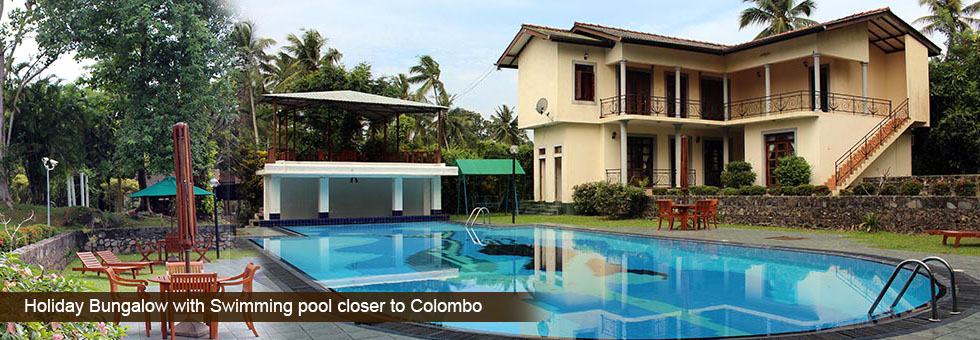 Holiday bungalow with large swimming pool available for - Bungalows with swimming pool in sri lanka ...