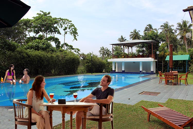 Well Functioning Holiday Bungalow With Swimming Pool For Sale Sell Buy Rent Properties In Sri