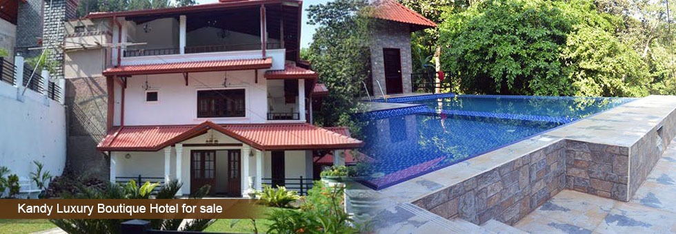 Brand new luxury boutique hotel in the boarder of hanthana for Boutique hotel for sale