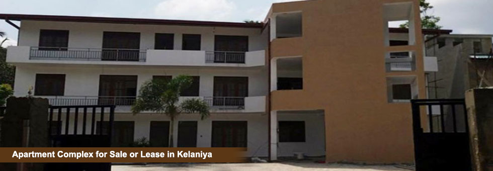 Apartment Complex for Sale or Lease in Kelaniya - Sell Buy