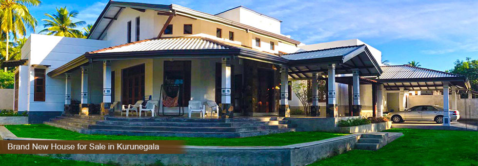 Luxury Brand New House for Sale in Kurunegala - Sell Buy